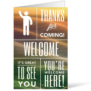 Phrases Welcome 8.5 x 11 Bulletins 8.5 x 11