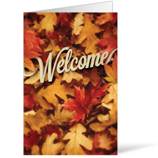 Welcome Leaf Pile Bulletin