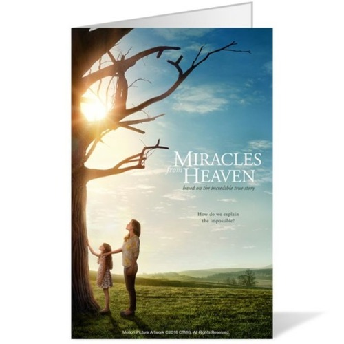 Miracles From Heaven Bulletin Church Bulletins