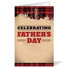 Father's Day Plaid Bulletin