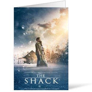 The Shack Movie Bulletins 8.5 x 11