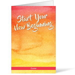 Big Invite New Beginning Bulletins