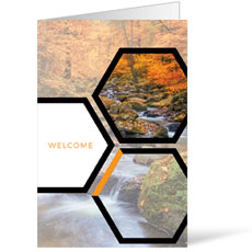 Welcome Hexagon Fall Bulletin