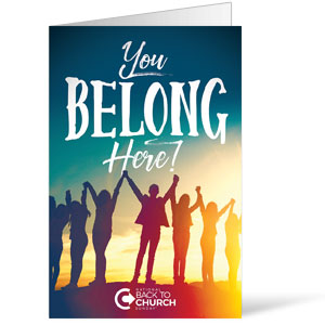 BTCS You Belong Here Bulletins 8.5 x 11
