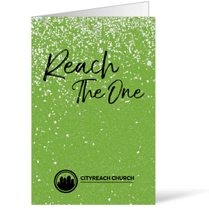 CityReach Green Pebble Fade Reach Bulletins