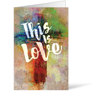 This is Love Easter Bulletins 8.5 x 11
