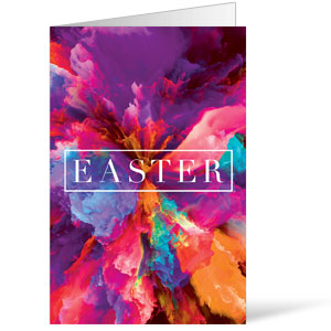 Easter Color Smoke Bulletins 8.5 x 11