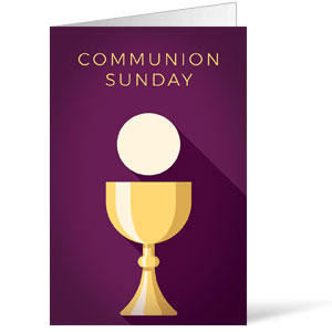 Contemporary Communion Bulletins 8.5 x 11