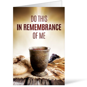 Remembrance Communion Bulletins 8.5 x 11