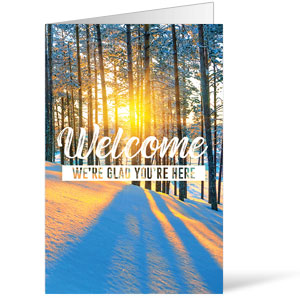 Inspirational Trees Winter Bulletins 8.5 x 11