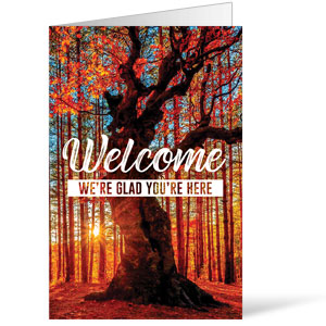 Inspirational Trees Fall Bulletins 8.5 x 11