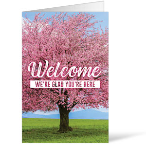 Inspirational Trees Spring Bulletins 8.5 x 11