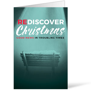 ReDiscover Christmas Advent Manger Bulletins 8.5 x 11