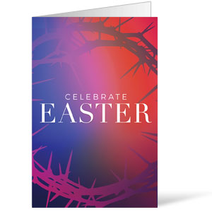 Celebrate Easter Crown Bulletins 8.5 x 11