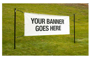 Outdoor Banner Display System Displays & Stands