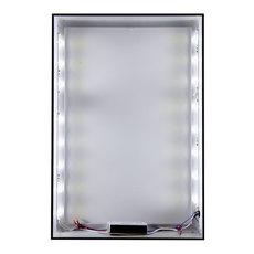 Quick Change Black Backlit Frame Displays & Stands