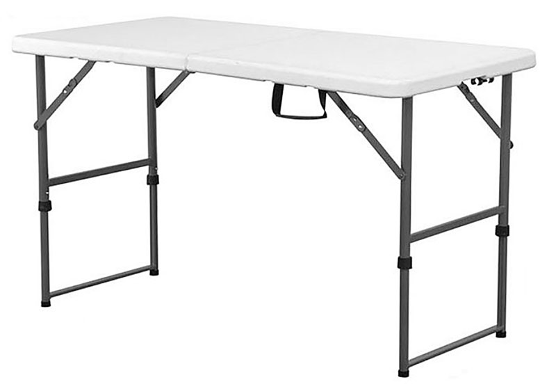 Displays & Stands, 2' x 4' Adjustable Height Table, 2' x 4'