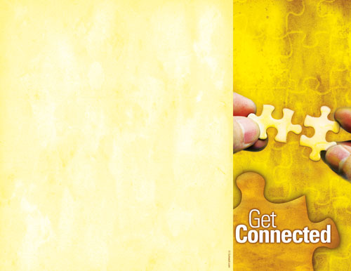 Church Brochure Get Connected Outreach Marketing