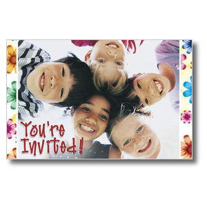 Kid's Invited Church Postcards