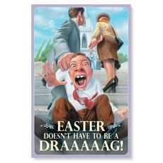 Easter Draaag Postcard