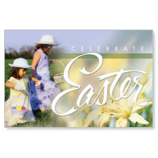 Easter Basket Postcard