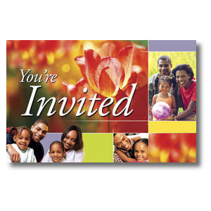 Spring Invited - AFA Church Postcards