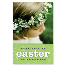 Easter to Remember Postcard
