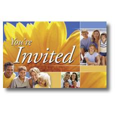 Summer Invited Postcard