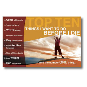 10 Things Church Postcards