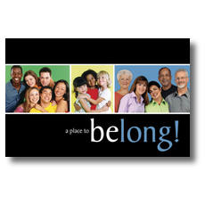 Belong Postcard