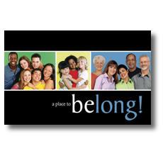 Belong Postcard