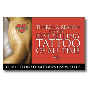 Mom Tattoo Postcards
