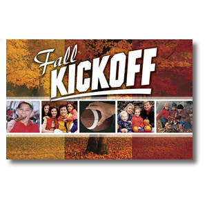 Fall Kickoff Church Postcards