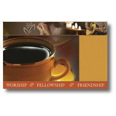 Coffee House Postcard