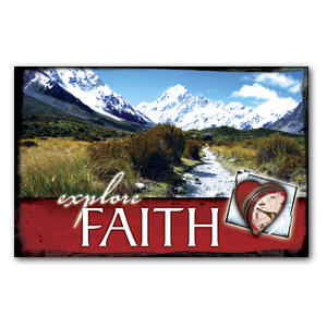 Explore Faith Church Postcards
