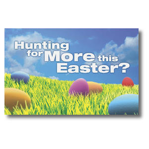 Easter Hunt Church Postcards