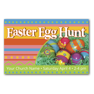 Egg Hunt Postcards