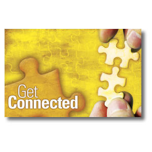 Get Connected Postcards