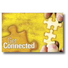 Get Connected Postcard