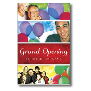 Grand Opening 2 Postcards