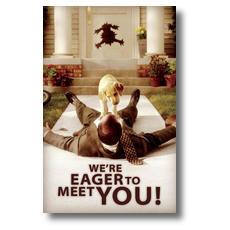 Eager Postcard