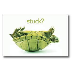 Stuck? Postcards