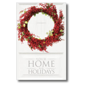 Home for Holidays Church Postcards