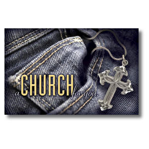 Denim Cross Postcards