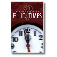 End Times Clock Postcard