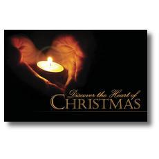 Heart of Christmas Postcard