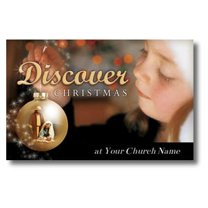 Discover Christmas Church Postcards