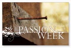 Passion Week Church Postcards