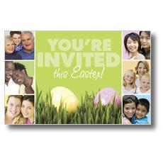 Easter Squares Postcard