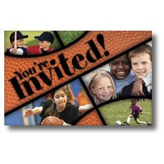 Kids Sports Postcard